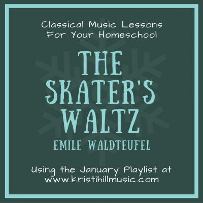 {Music Lessons for Kids} The Skater's Waltz // Waldteufel