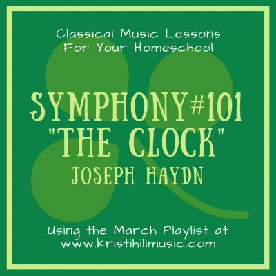 {Music Lessons for Kids} The Clock // Hadyn