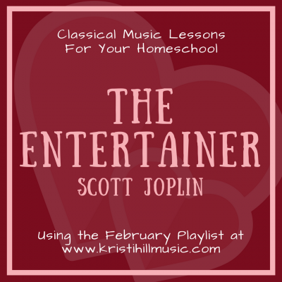 {Music Lessons for Kids} The Entertainer // Joplin