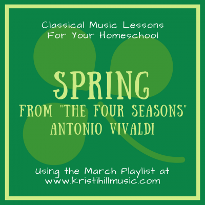"{Music Lessons for Kids} Spring from ""The Four Seasons"" // Vivaldi"