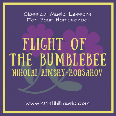 {Classical Music Lessons for Kids} Flight of the Bumblebee // Rimsky-Korsakov