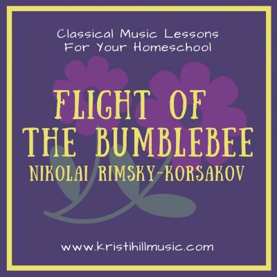 {Classical Music Lessons for Kids} Flight of the Bumblebee // Rimsky-Korsakov