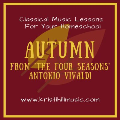 "{Music Lessons for Kids } Autumn from ""The Four Seasons"" // Vivaldi"