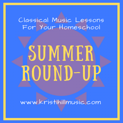 {Music Lessons for Kids} Summer Playlist Round-Up