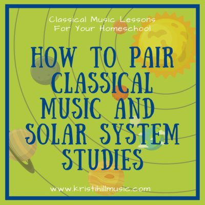 How to Pair Classical Music and Solar System Studies