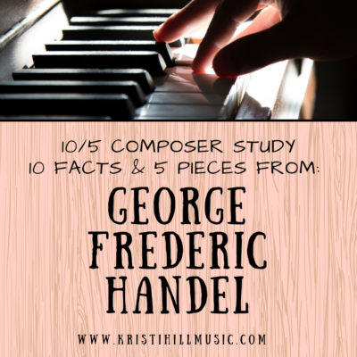 {10/5 Composer Study} George Frederic Handel