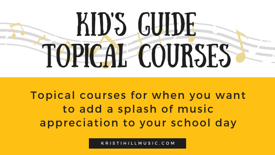 Kid's Guide Topical Courses